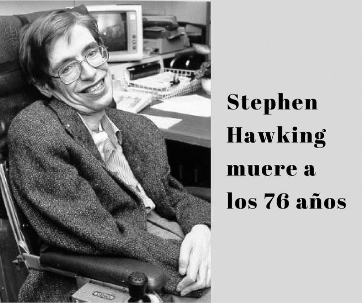 Stephen Hawking, el hombre que vivió enamorado del universo