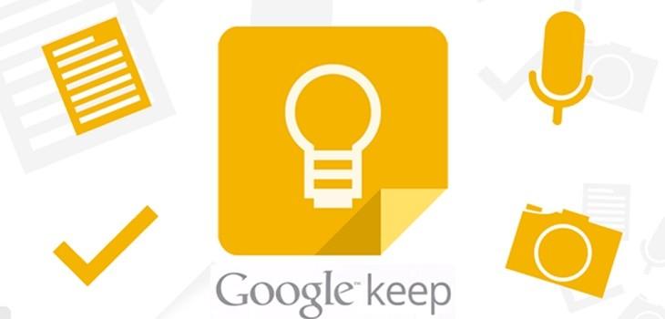 Utilizar Google Keep