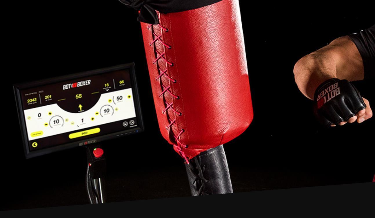 Un robot que ayuda a entrenar artes marciales