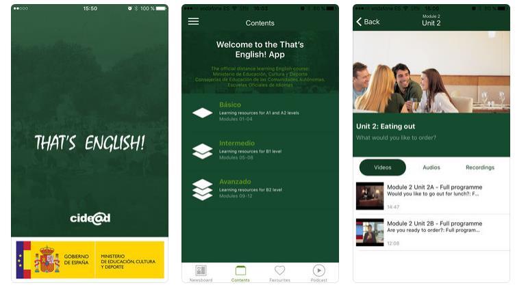 Una app gratuita para practicar inglés desde el móvil