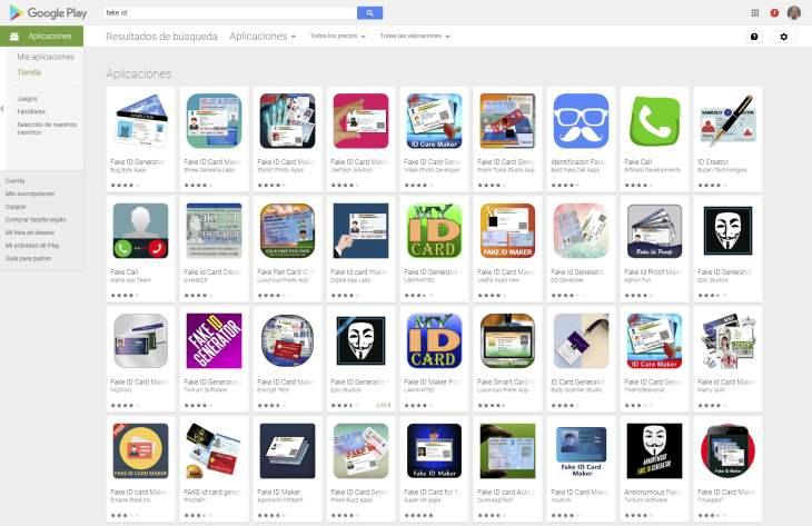 FakeID-GooglePlayStore