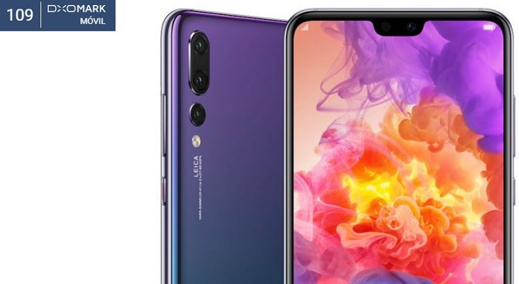 Huawei P20 Pro record DxOMark