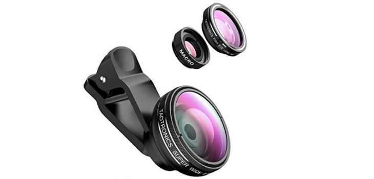 Kit de lentes externas