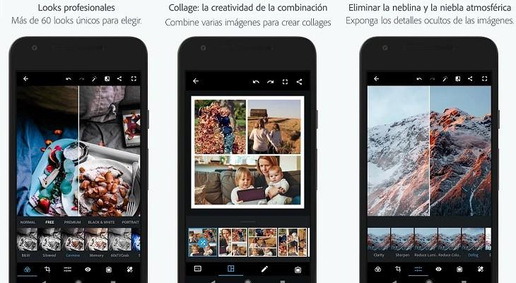 Photoshop express app editar fotos