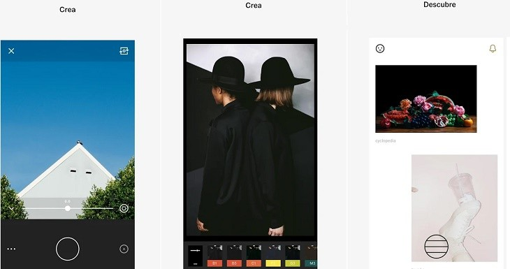 VSCO app editar fotos