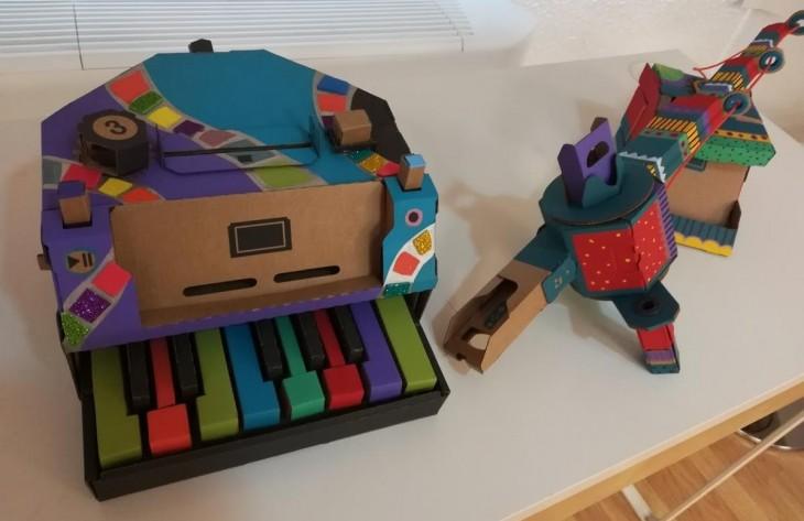 piano de Nintendo Labo