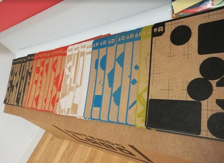 placas de cartón