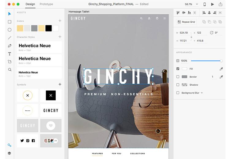 Adobe lanza su app de diseño de interfaces de manera gratuita