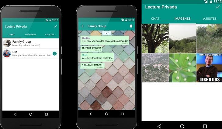 App Lectura privada para WhatsApp