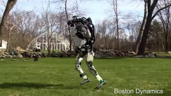 Este es 'Alias', el robot humanoide que corre y esquiva obstáculos