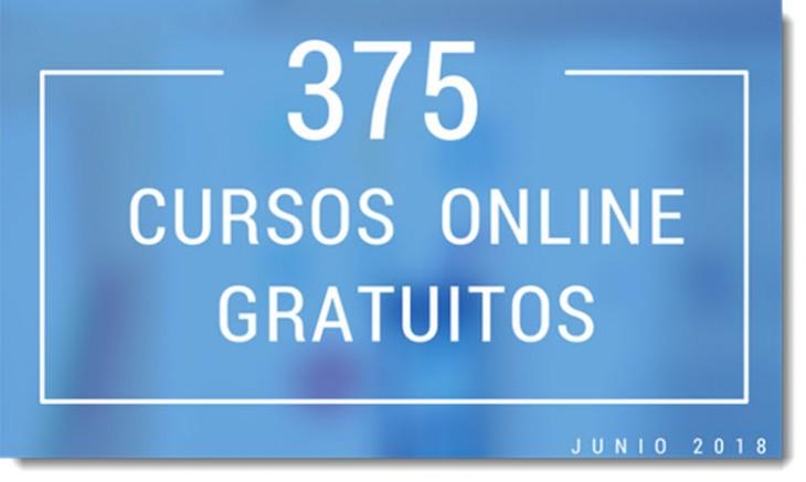 375 cursos universitarios, online y gratuitos que inician en junio