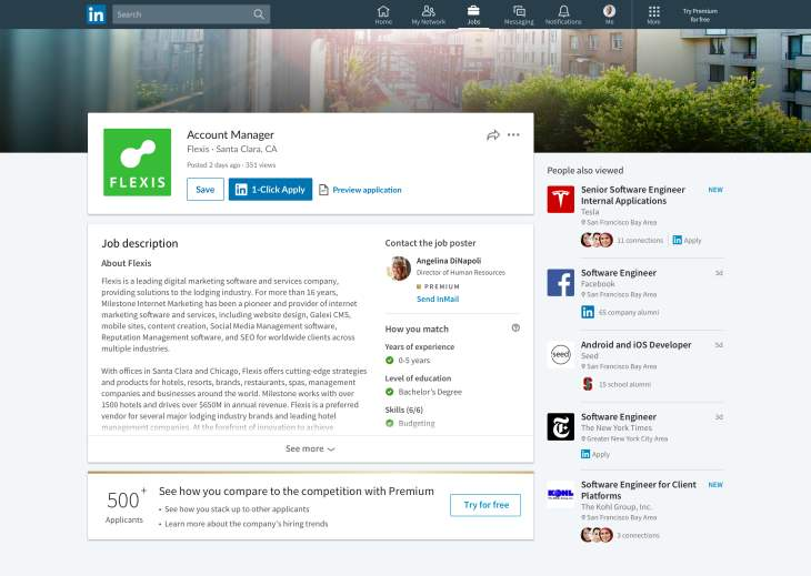 LinkedIn-HowToMatch-1Click-Apply