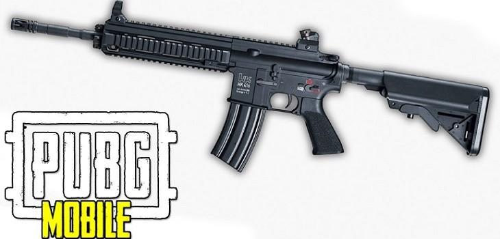 M416 arma PUBG Mobile
