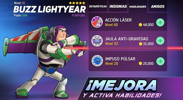 Personajes Disney Heroes Battle Mode