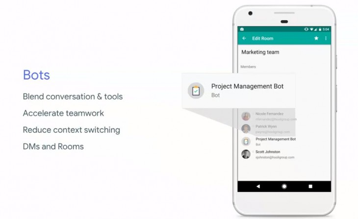 Google hangout presents new google bot for chats | TNTBuzz