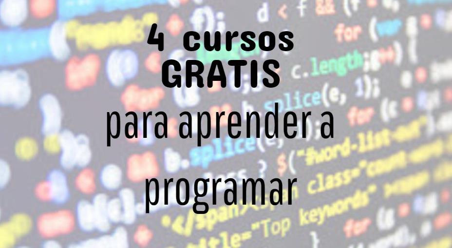 Cursos gratis introductorios de programación
