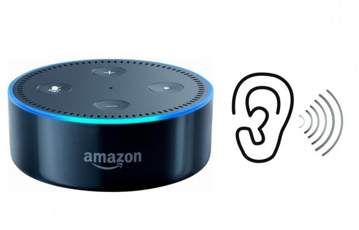 amazon echo escuchando