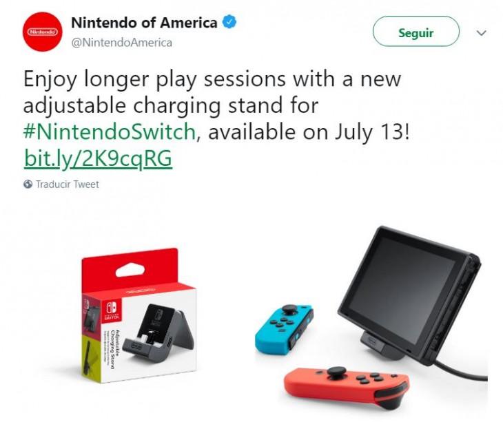 Nuevo Cargador Para Nintendo Switch