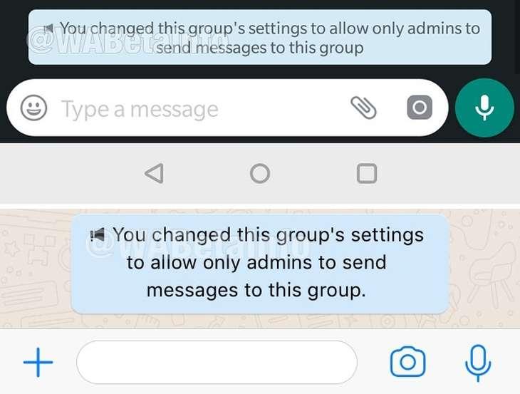 Sólo Administradores de Grupo puedan Enviar Mensajes — WhatsApp