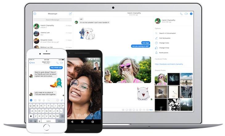 Messenger de Facebook ya traduce de inglés a español