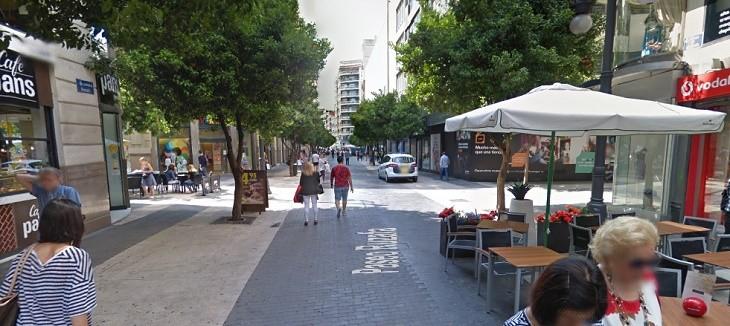 Paseo Ruzafa Valencia