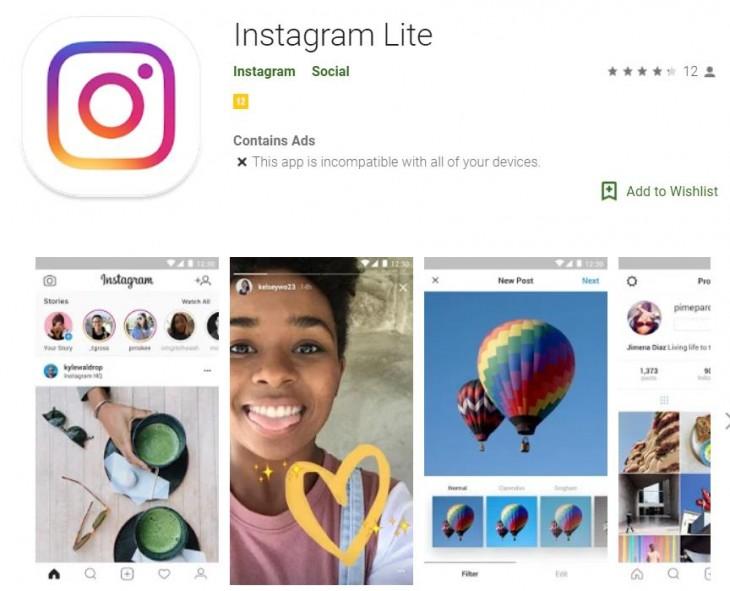"""Ya puedes descargar Instagram Lite y gastar menos datos en México"""""""