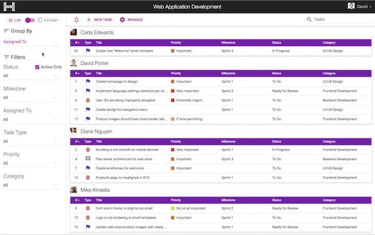 Haplen, una sencilla plataforma de gestión de tareas para equipos de trabajo
