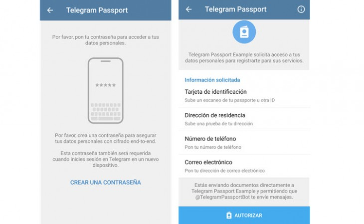Telegram Passport