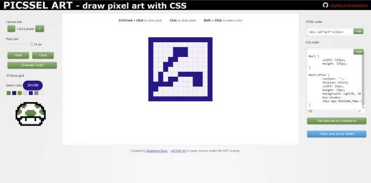 piCSSel-art