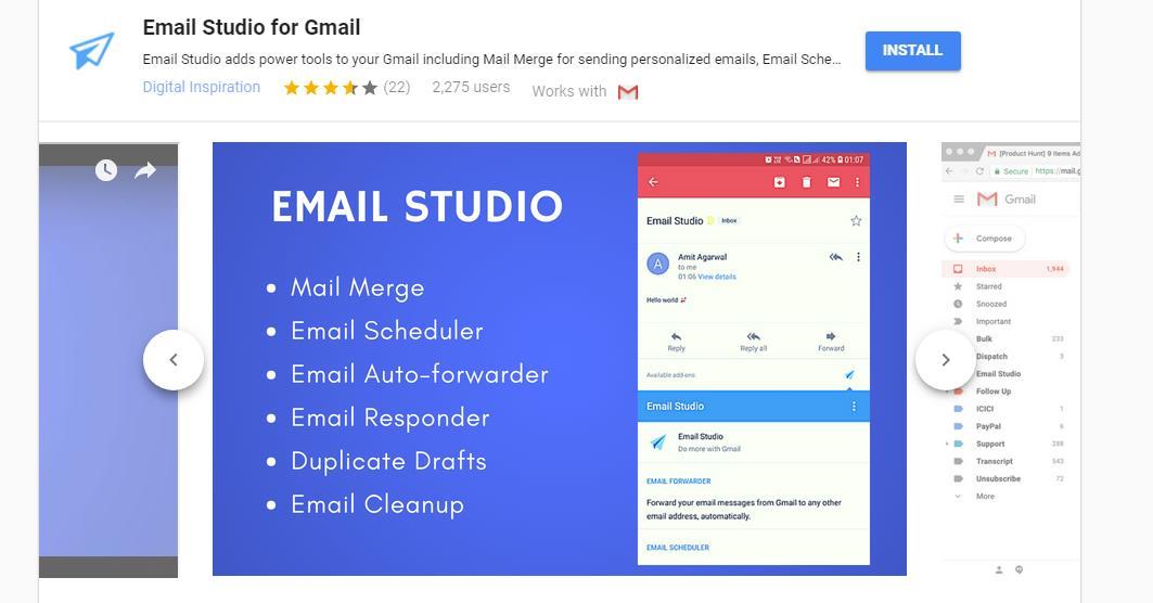 Email Studio, para ampliar las posibilidades de Gmail
