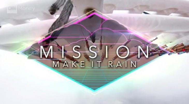 tecnología para crear lluvia