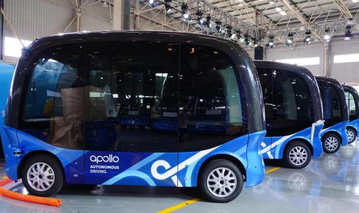 autobuses autónomos