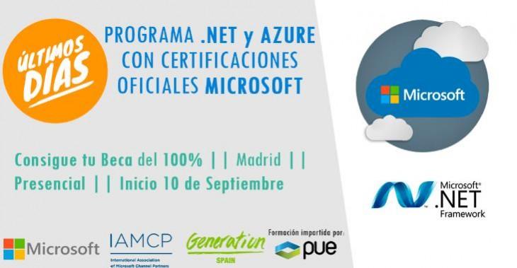 programar .Net y Azure