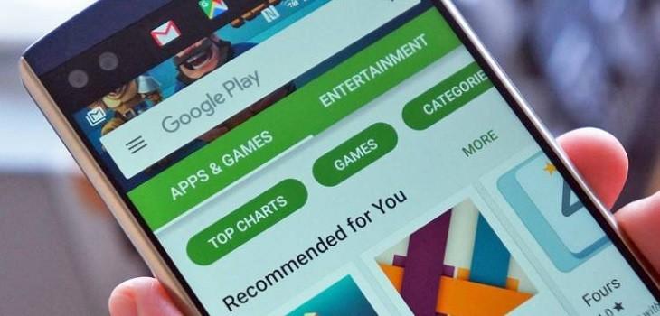 Aplicaciones prohibidas en Google Play