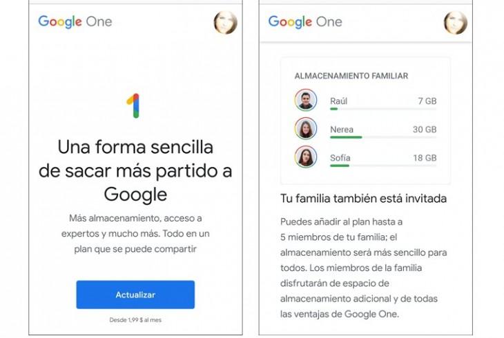 Conoce los nuevos planes de almacenamiento del buscador — Google One