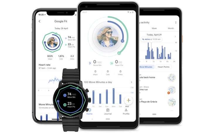 La app Google Fit para controlar tu actividad física se renueva