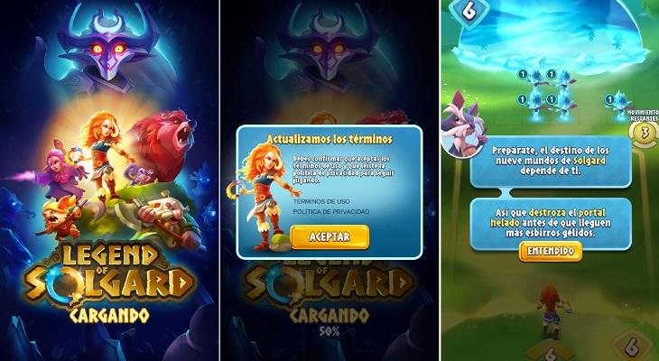 Inicio Legend of Solgard