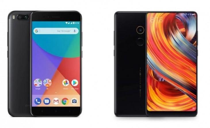 Xiaomi Mi A1 y Xiaomi Mi Mix 2