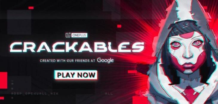 Crackable juego de OnePlus