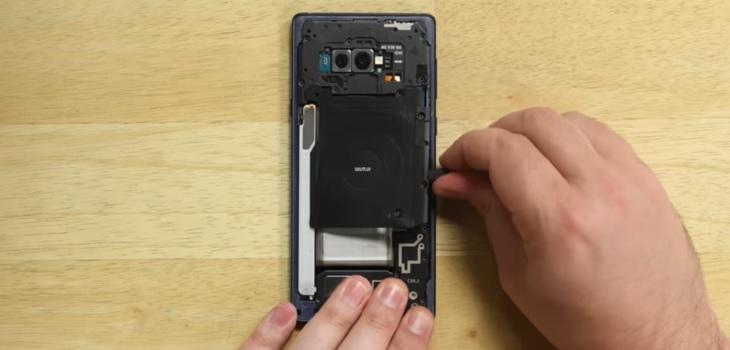 Test reparacion Galaxy Note 9
