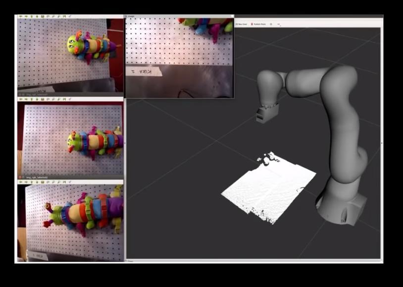 Un robot capaz de aprender más sobre lo que ve