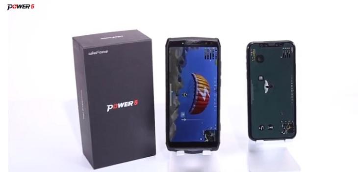 Test batería iPhone Xs vs Ulefone Power 5
