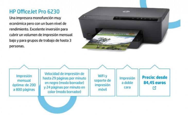 Una de las impresoras de la serie 6000