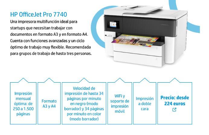 Una de las impresoras de la serie 7000