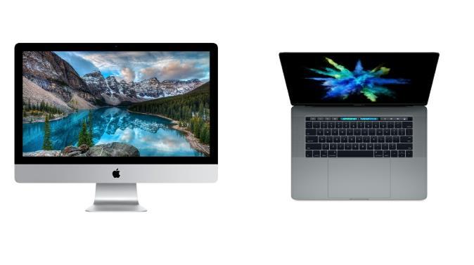 MacBook Pro y iMac Pro