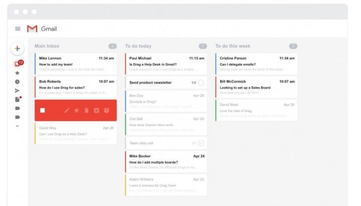 Opciones para transformar Gmail en un sistema de gestión de tareas