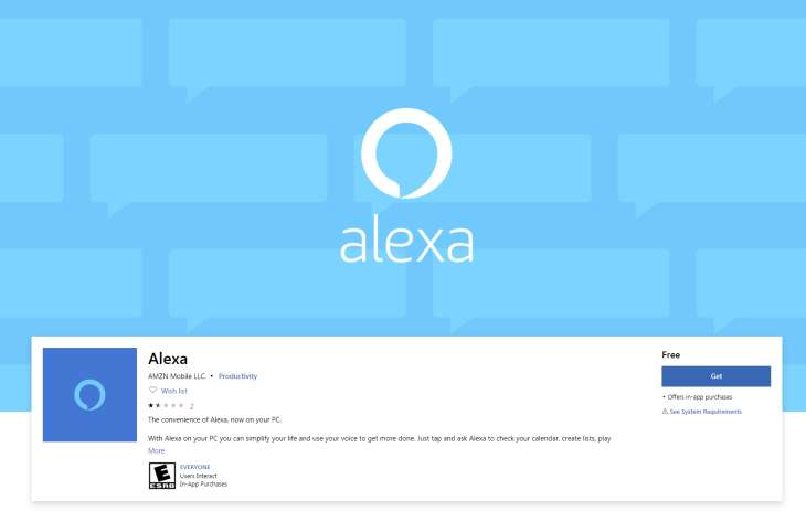 Alexa-PC-Windows10