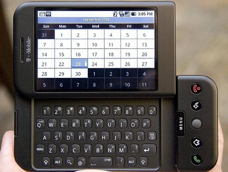 Diseño HTC Dream