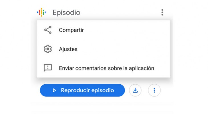 Podcasts de Google