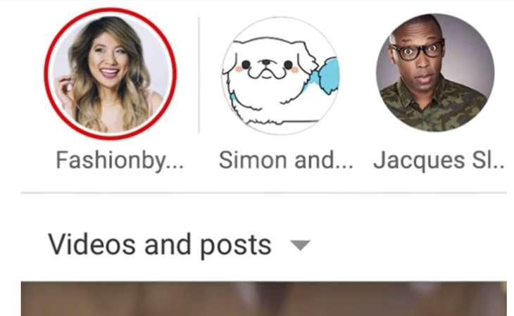 YouTubeStories